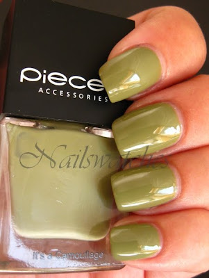 pieces nail polish green nailpolish it's camouflage