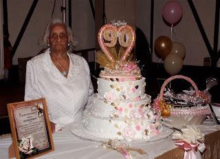 Doña Tutí celebró sus 90Años