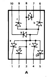 Common Anode Seven Segment to PLC