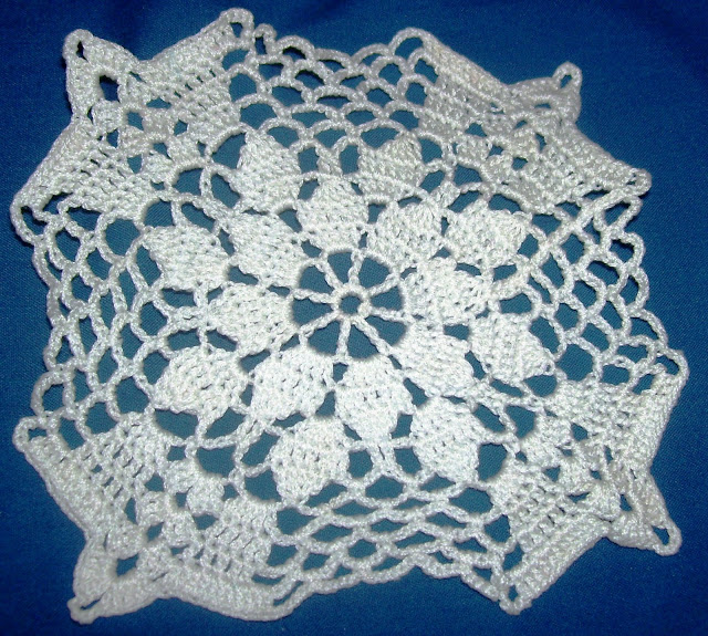 Cuadro, granny tejido al crochet