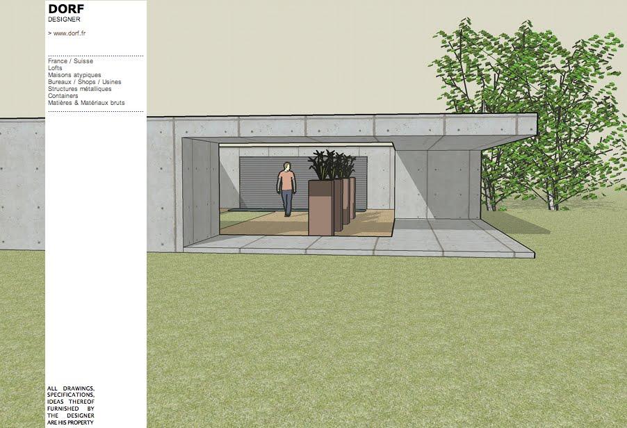 Plan De Maison Moderne Toit Plat Maison Toit Plat Maison Maison Bbc