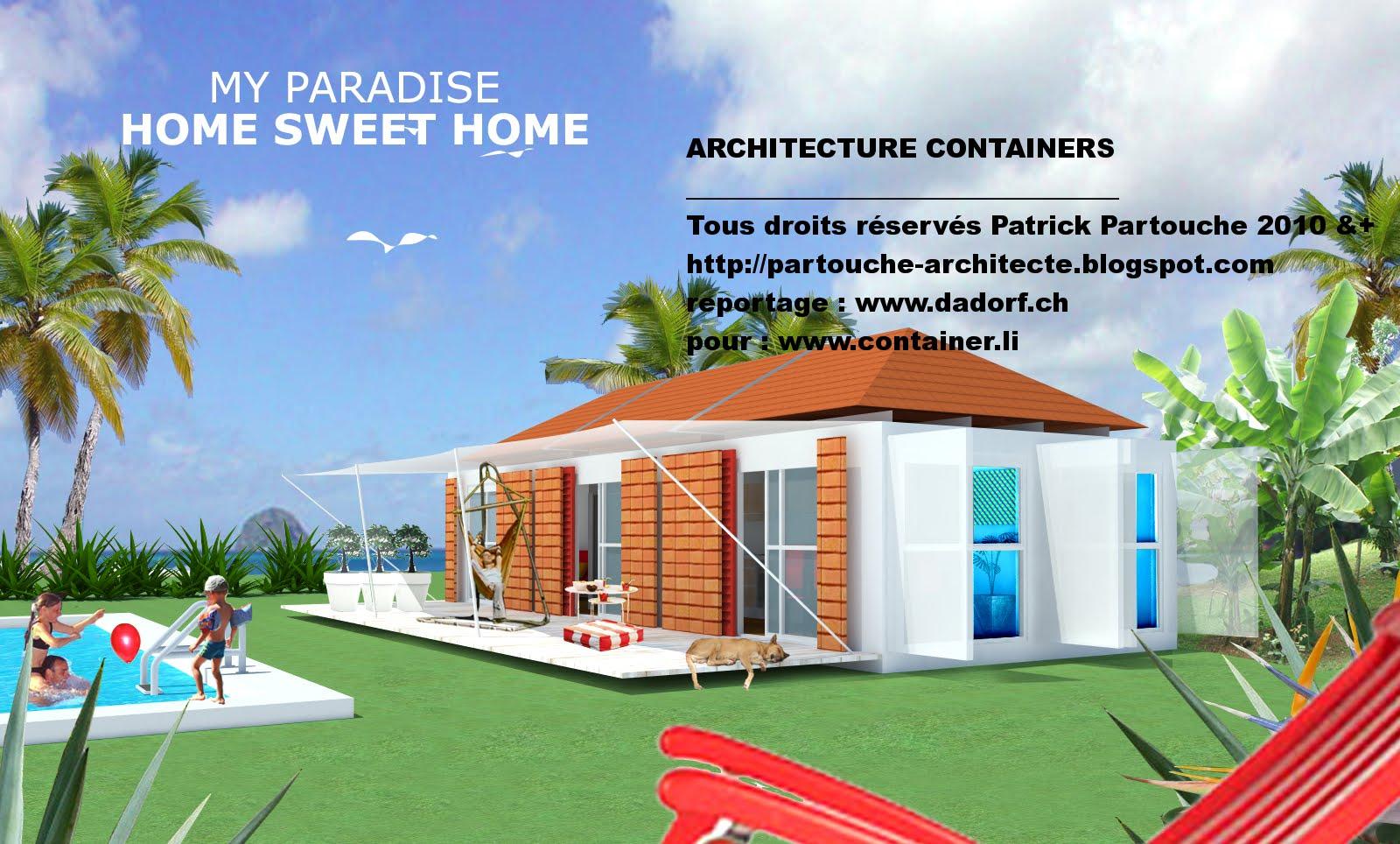 maison container projet plan construction francais. Black Bedroom Furniture Sets. Home Design Ideas