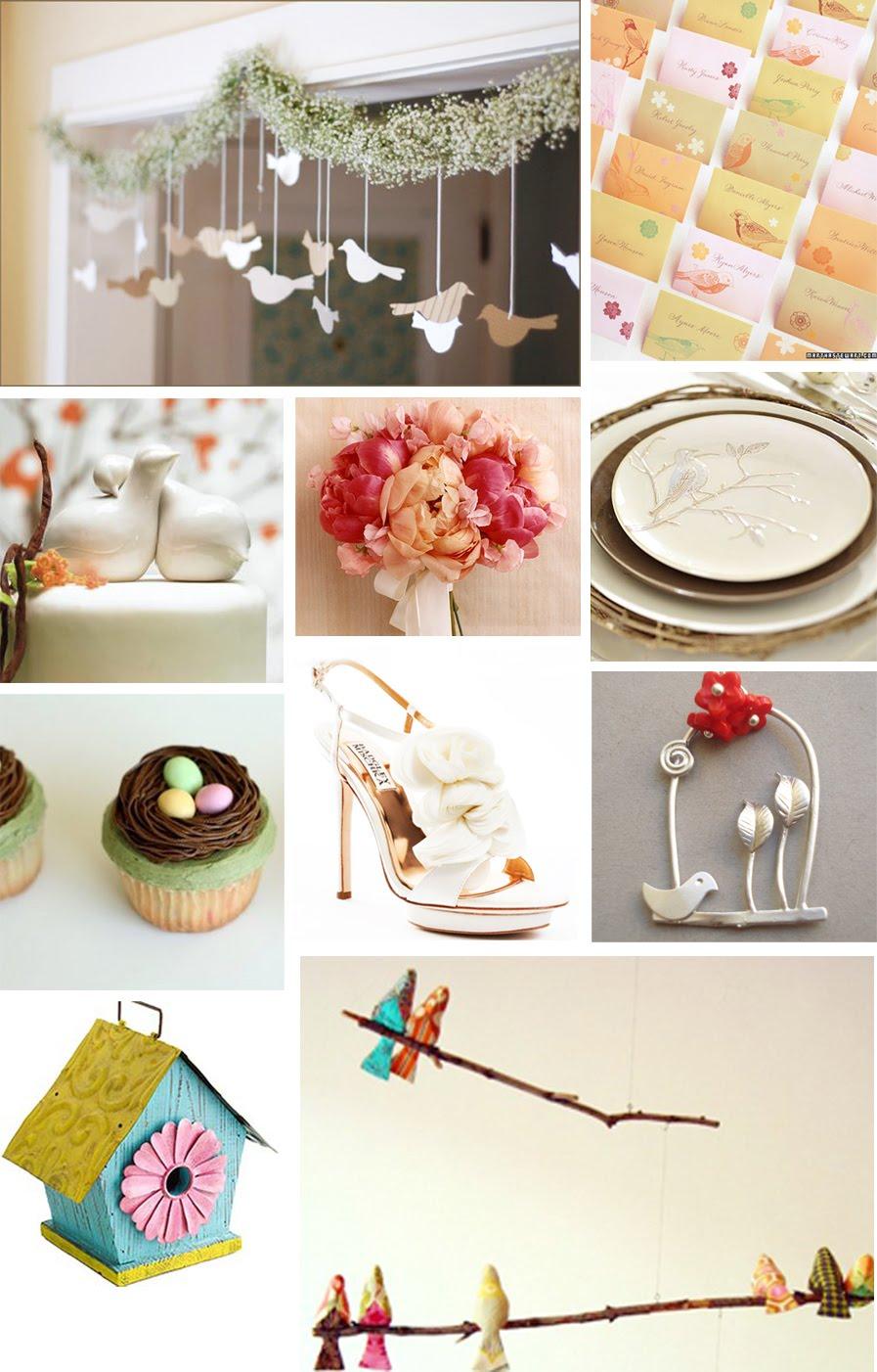 The Artful Bride Wedding Blog Love Bird Themed Wedding