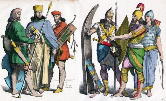 Resultado de imagem para roupas persas antiguidade