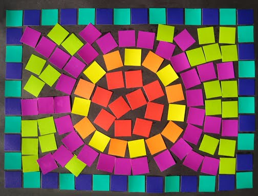 Roman mosaic patterns for kids images for Roman mosaic templates for kids