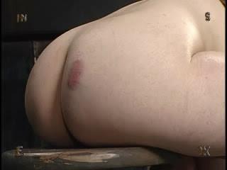 Me on my back dildoing hard