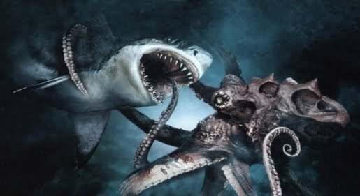Captain Black's Sea Chronicles: Shark vs. Octopus
