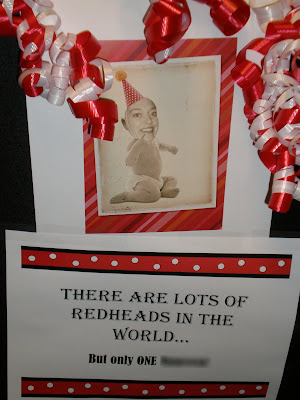 Last Week One Of Our Team Members Ahem The Redhead Had A Birthday And Well We Couldnt Let It Go By Without Little Somethin