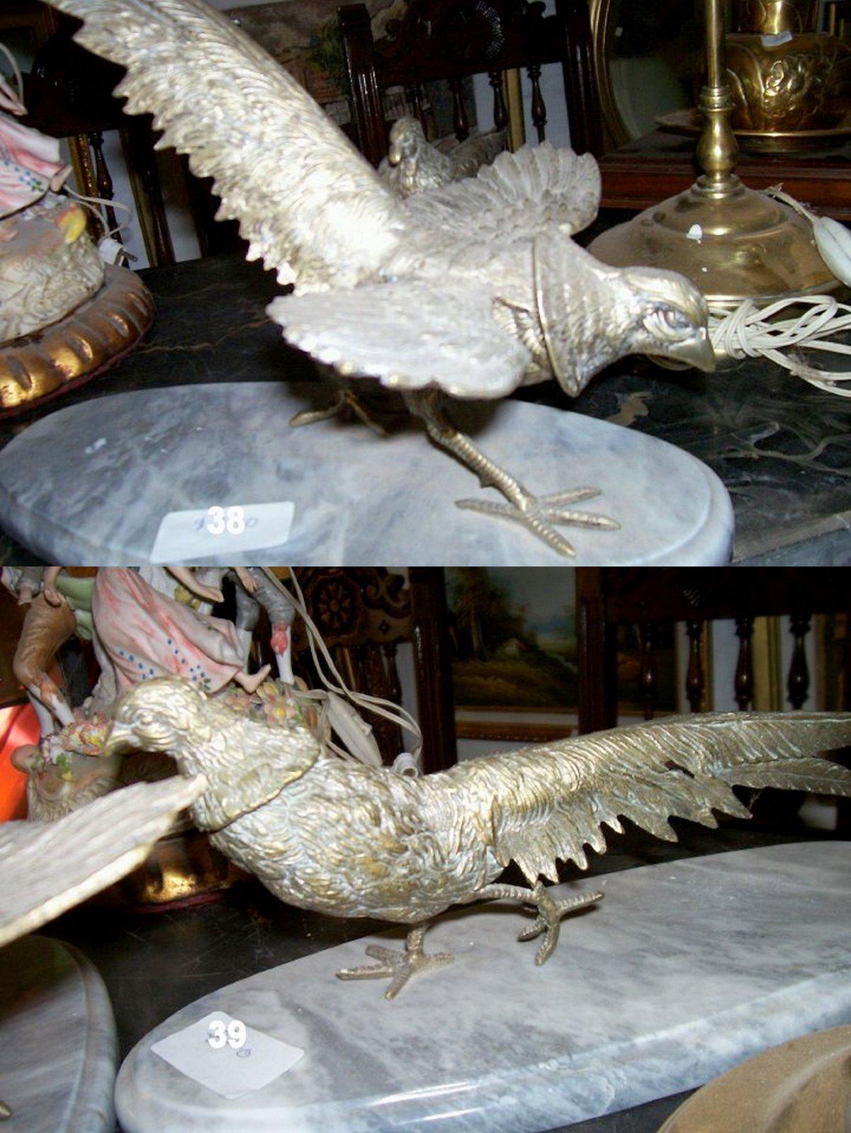 Antiguedades en cordoba argentina aves en bronce - Muebles antiguos cordoba ...
