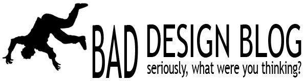 bad design blog. Black Bedroom Furniture Sets. Home Design Ideas