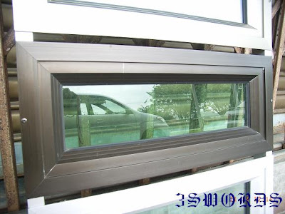 9328d9ffdb2a Samples of aluminium frame and glass for casement window