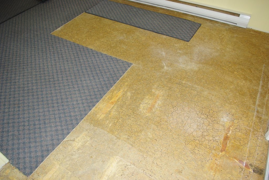 How To Remove Old Glued Vinyl Flooring