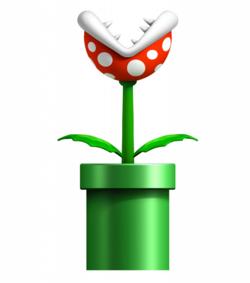 e54065700f A cabeça de uma Piranha Plant é normalmente vermelha ou verde com várias  bolinhas de outras cores (normalmente brancas). Originalmente