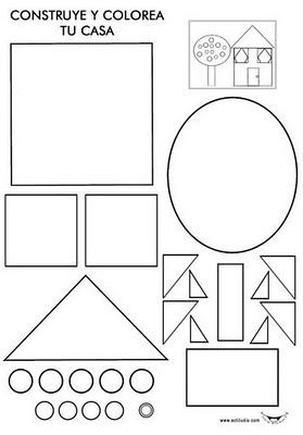 Planeta Escolar Cuerpos Y Figuras Geométricas Fotocopiables