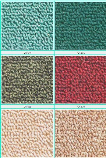 Jual karpet lantai dan karpet tile murah Karpet Rainbow