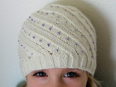 I d Rather Be Knitting  Hats for the Nieces 9fe9e923863