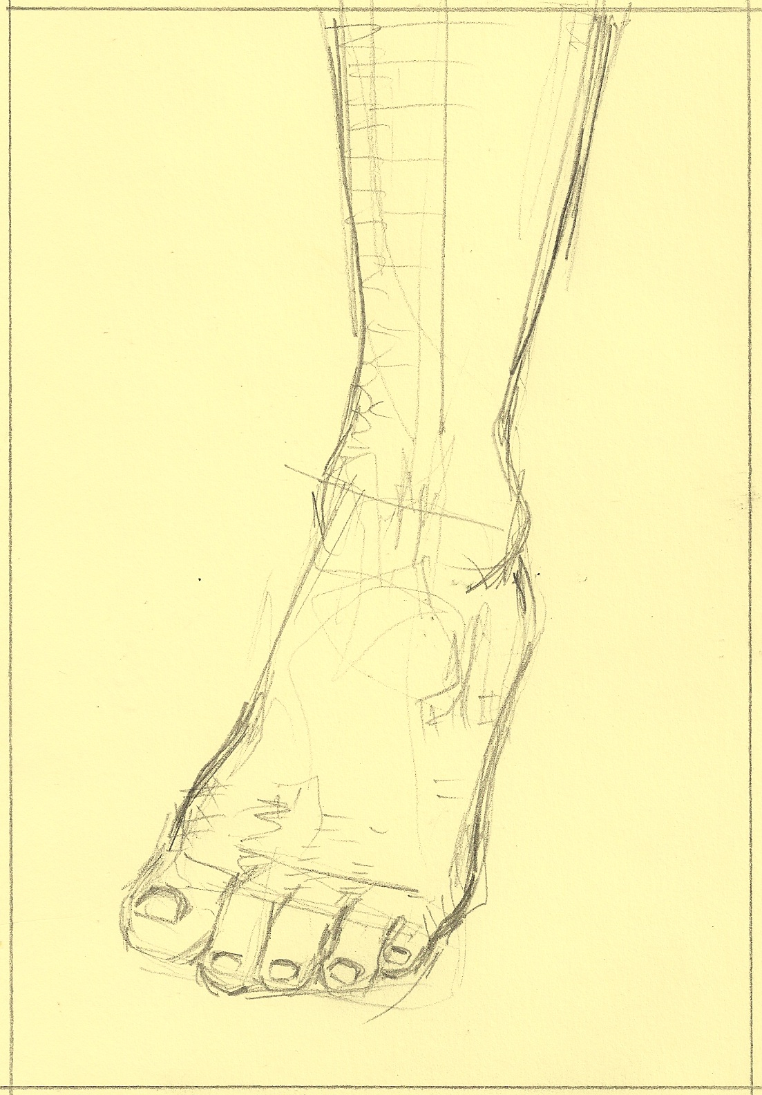 It's just a graphic of Fabulous Drawing On Feet