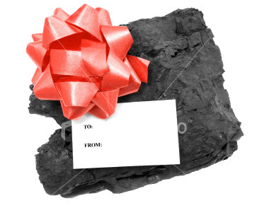 Lump Of Coal For Christmas.An Inch At A Time Reflections On The Journey Q What S