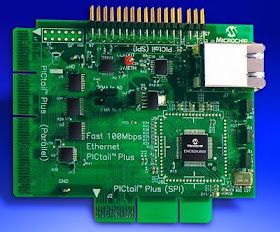 eProjects: New 10/100 Mbps Ethernet Controller from Microchip