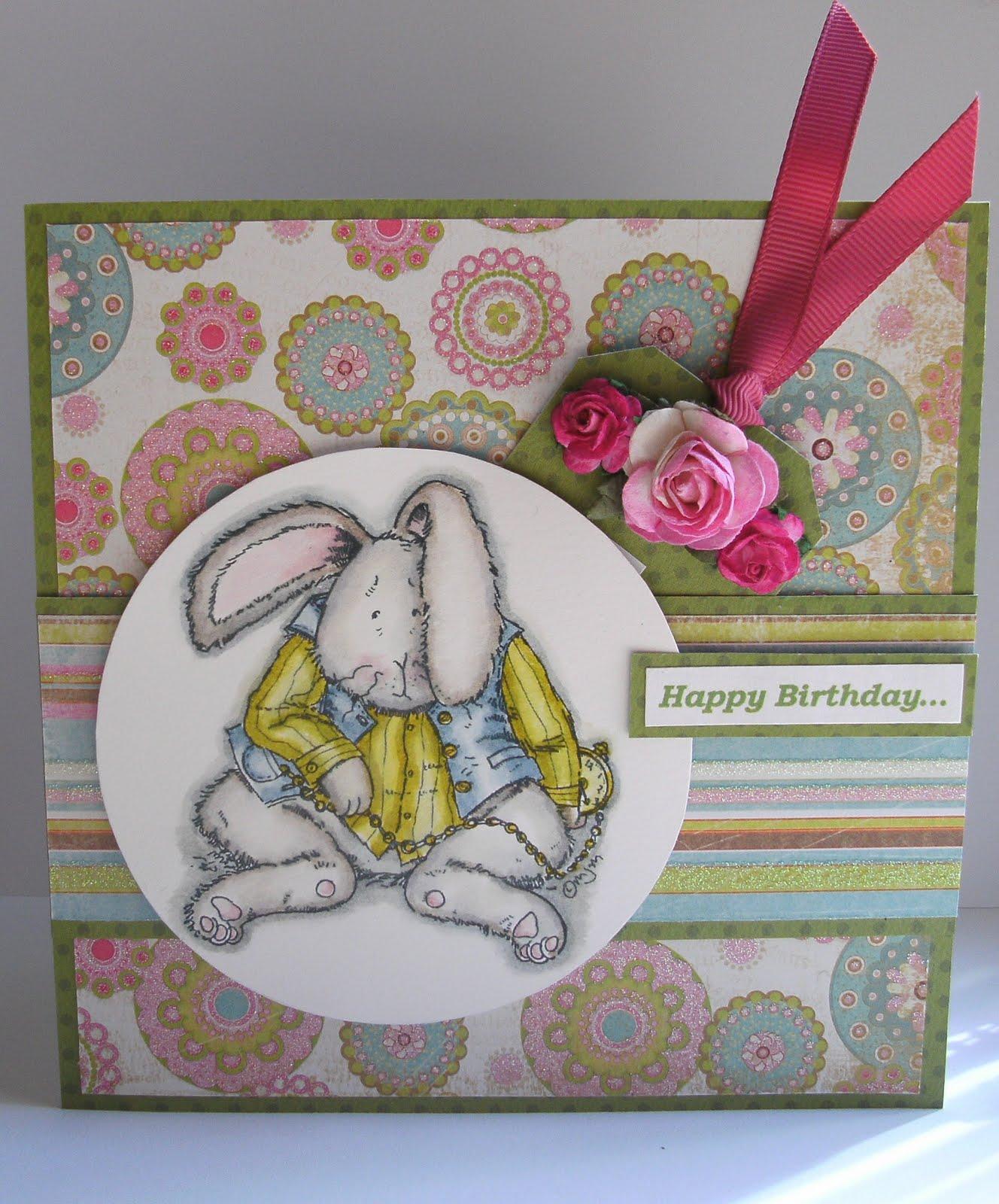 Liza's Crafty Spot!: Happy Birthday.....sorry Its Late