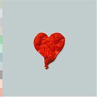 Kanye West, caratula oficial 808s & Heartbreak