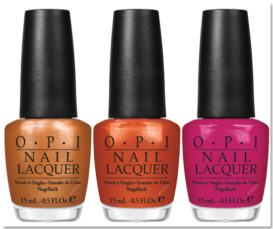 OPI Nail Lacquer HL B14 TEASE-Y DOES IT BURLESQUE
