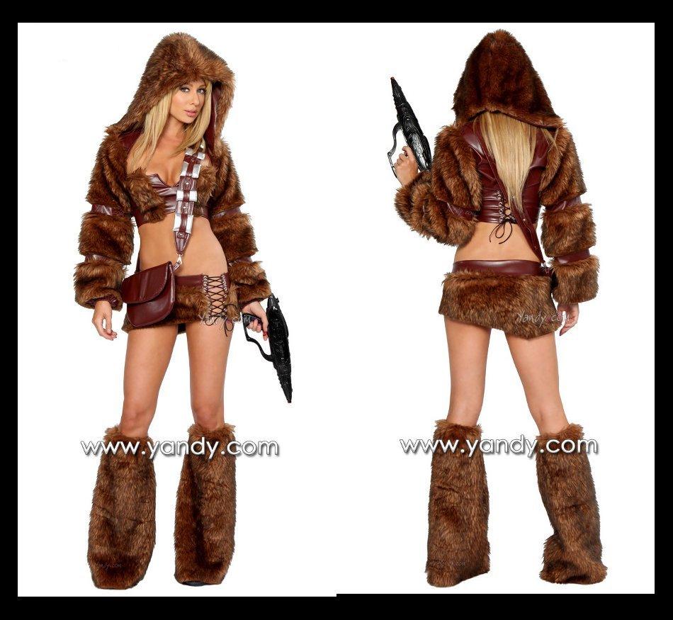 Sexy Chewbacca Costume