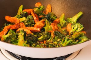 Pork and Broccoli Stir-Fry with Ginger and Hoisin Sauce from KalynsKitchen.com
