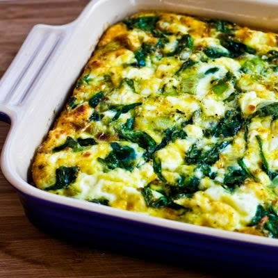 Kalyn S Kitchen 174 Low Carb Breakfast Casserole With