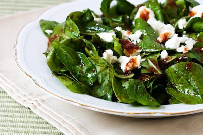 Arugula Salad with Feta and Fresh Tomato-Balsamic Vinaigrette
