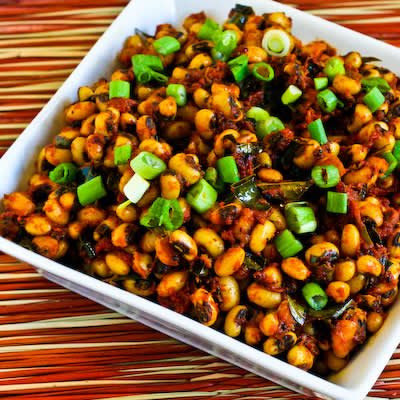 Indian-Spiced Black-Eyed Peas