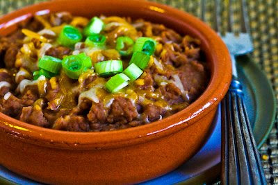 Refried Beans in the pressure cooker