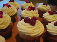 Cranberry cupcakes | becs-table.com.au