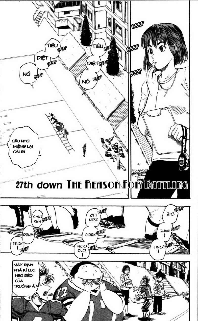 Eyeshield 21 chapter 27 trang 2