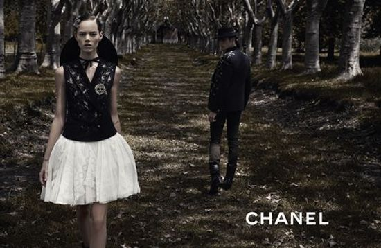 ...by Karl Lagerfeld Ad Campaign: Chanel Season: Spring Summer 2010.