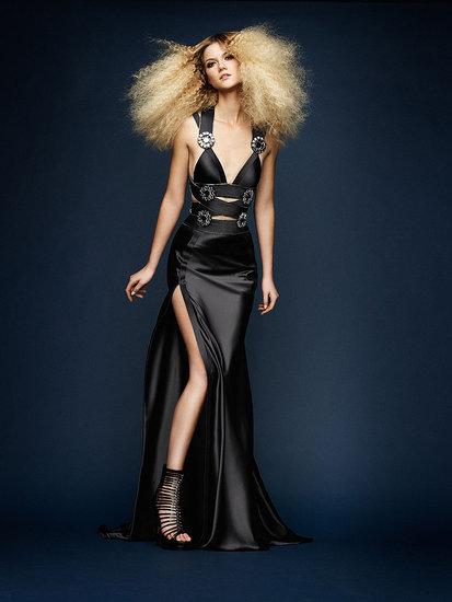 Мода - коллекция вечерних платьев от Atelier Versace весна-лето 2010.