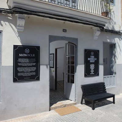 monocle mallorca pop up store