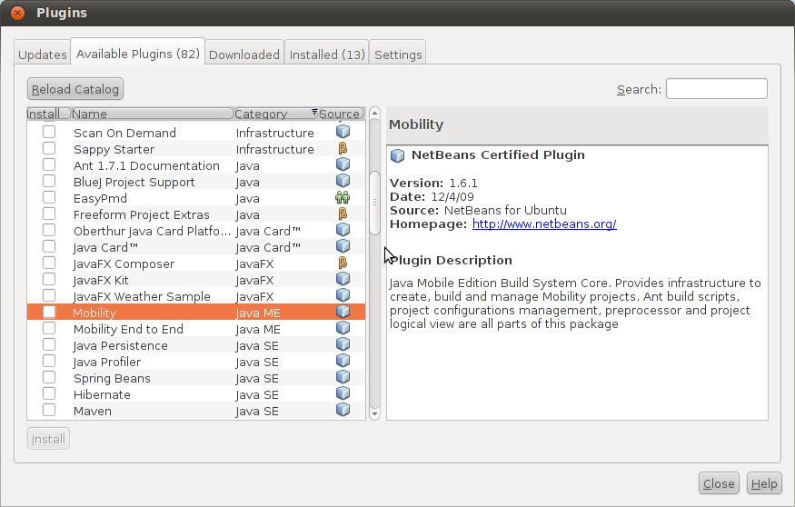 On Ubuntu: Preparing NetBeans IDE for Java ME on Ubuntu 10 04 (64-bit)