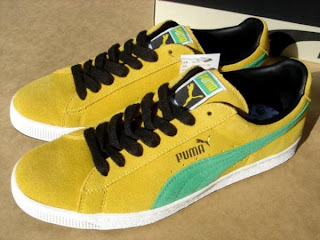 98568a3d Puma Trainers - colourways and variations: Puma Suede Jamaica ...