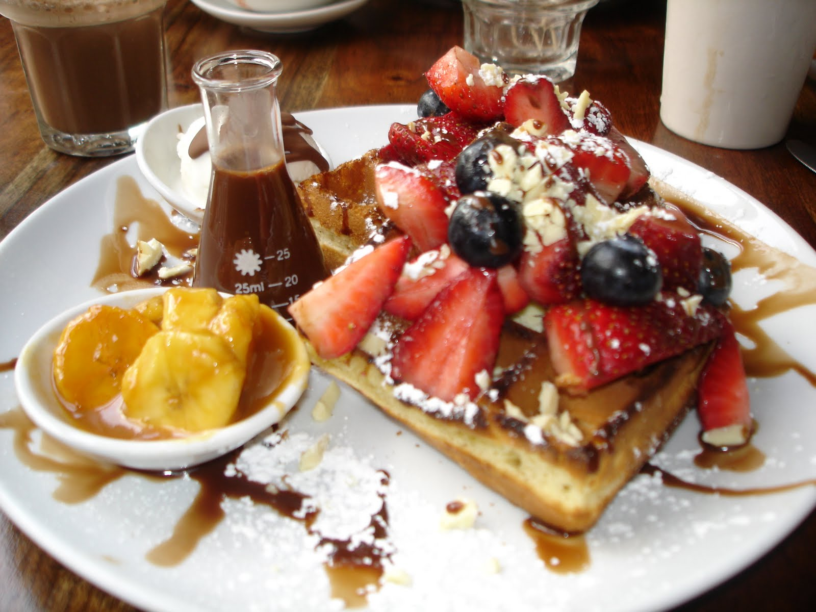 NYC: Chocolate by the Bald Man: Max Brenner – dee Cuisine