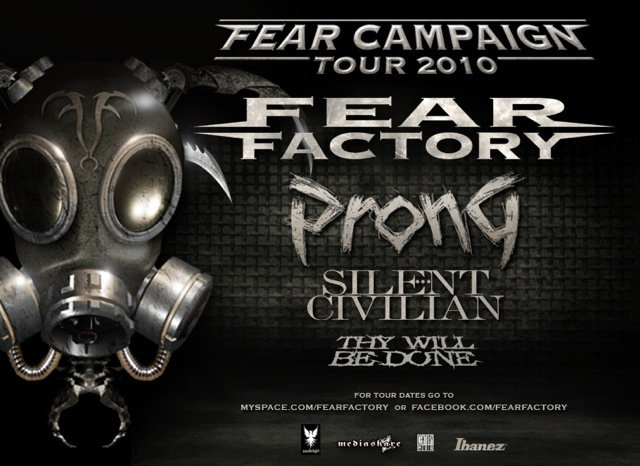 horns up rocks fear factory fear campaign tour 2010 new dates. Black Bedroom Furniture Sets. Home Design Ideas