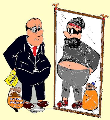 Resultado de imagem para político ladrão