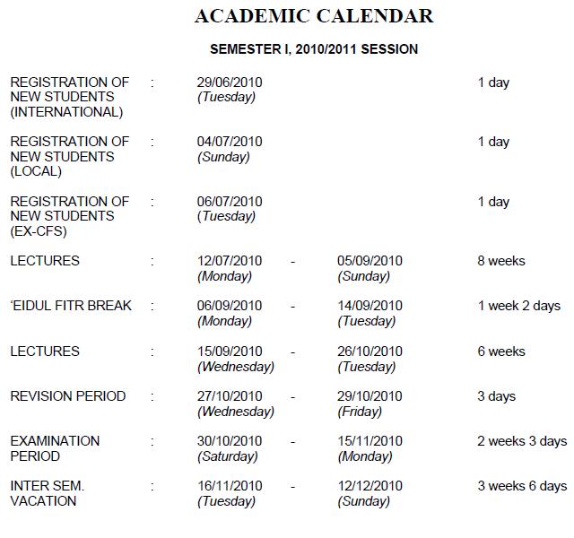 Academic Jhu Academic Calendar