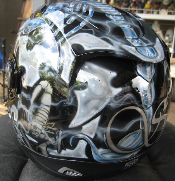 """""""da Triggaman' Passion"""" Scorpion Females Helmet"""