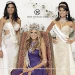 2008 Miss World Wallpapers   Russia Ksenia Sukhinova   India Parvathy Omanakuttan