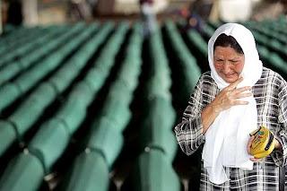 Srebrenica Massacre - Funeral of Srebrenica Genocide Victims.