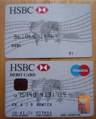 Hsbc Debit Card Account Number
