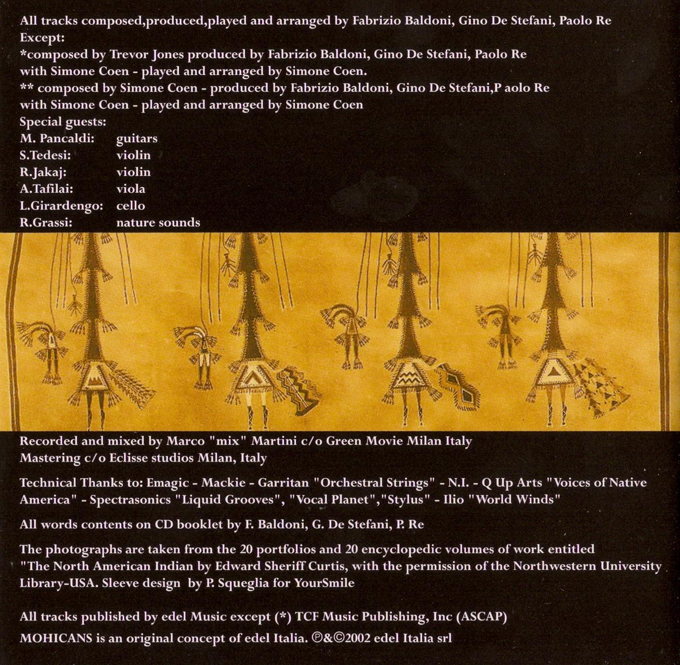 New Age & World Music Lovers: Various Artists - Mohicans [3