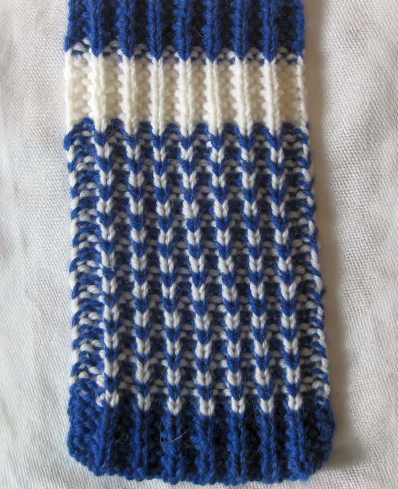 Verdigris Knits New Super Scarves Pattern The Fluted Rib Scarf