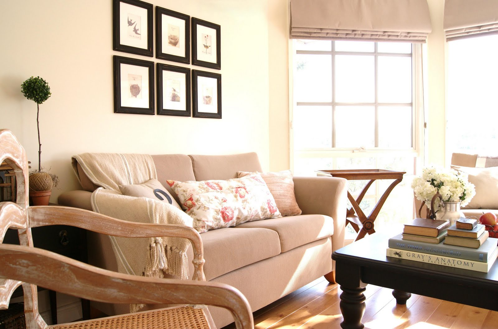 Remodelaholic | I Could Live in this Room; Living Room Before and ...